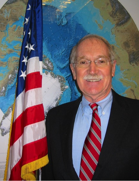 George Newton, retired chairman of and current acting advisor to the U.S. Arctic Research Commission. Image courtesy of NSIDC.