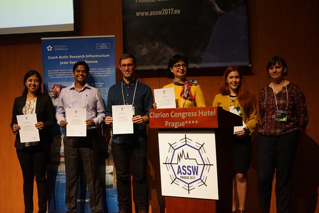 IASC Fellows gathered at ASSW 2017, Prague, Czech Republic. Photo courtesy of IASC.