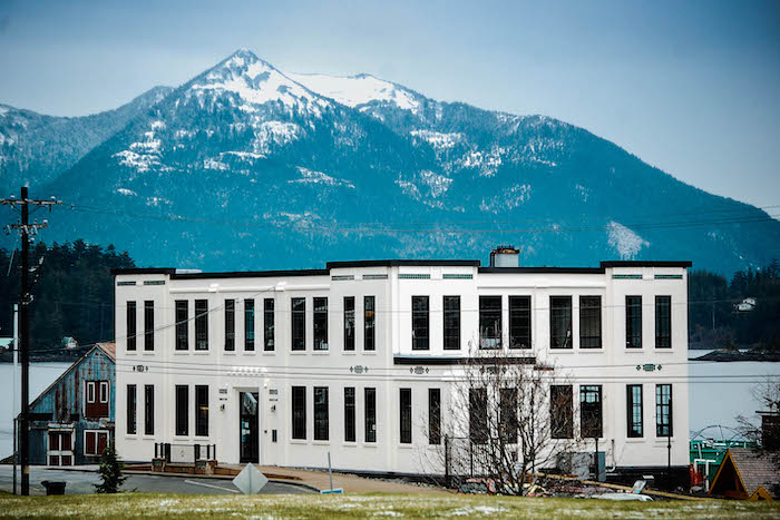 The Sage Building was built in 1929 as part of the Sheldon Jackson Campus and since 2007, when the campus closed its doors, it has been the home of Sitka Sound Science Center. Photo courtesy of the Sitka Sound Science Center.