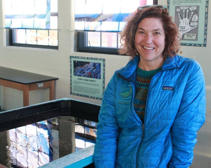 Lisa Busch is the Sitka Sound Science Center's Executive Director. Photo courtesy of the Sitka Sound Science Center.