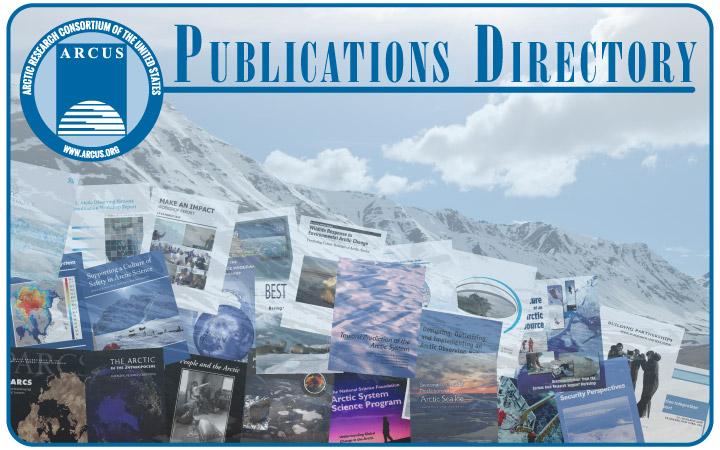 ARCUS Publication Directory