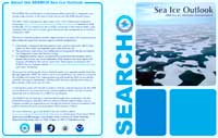 2008 Sea Ice Minimum Announcement Flyer
