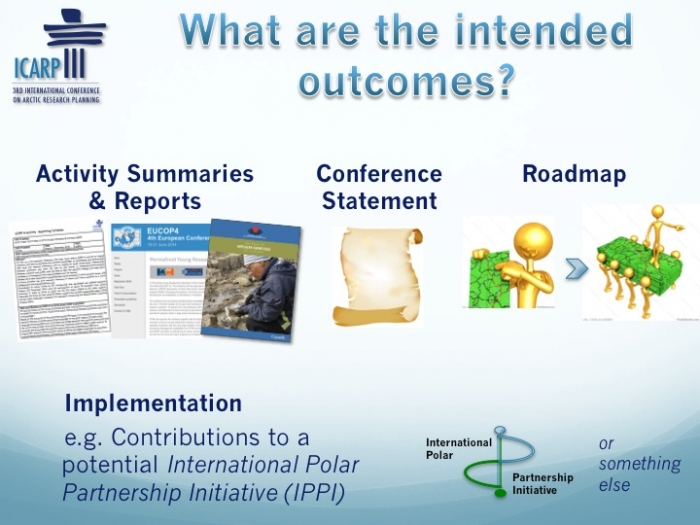 The outcomes of ICARP III include a catalogue of summaries and reports from the numerous activities conducted by partner organizations and groups, the Toyama Conference Statement, and a synthesis report that will provide a roadmap for implementing ICARP III outcomes over the next decade. Image courtesy of ICARP III.