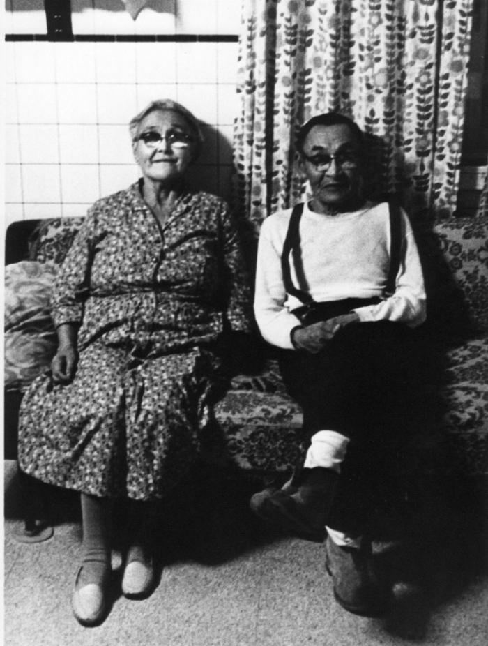 Figure 2. The late Paul and Anna Chukan, the author's Great Grandparents from Native Village of Naknek, Alaska. Photo courtesy of Melanie Brown (relative).
