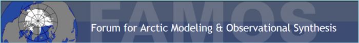 Forum for Arctic Modeling and Observational Synthesis (FAMOS)