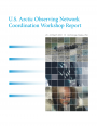 2012 U.S. Arctic Observing Network Coordination Workshop Report
