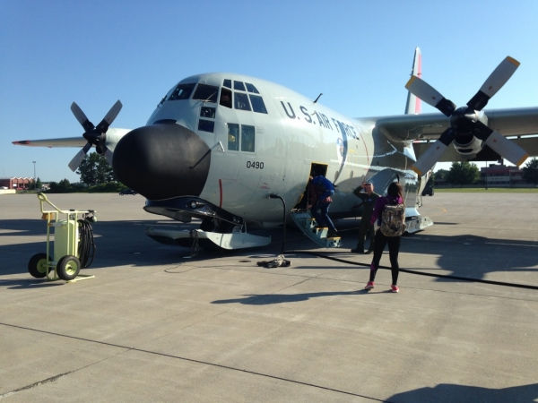LC-130 – Transportation to, from, and throughout Greenland (Photo Credit:  Hope Garma)