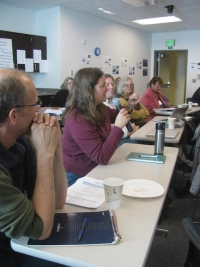 Researchers and teachers gathered for workshop in Barrow, Alaska.
