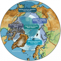 Regional Arctic Map