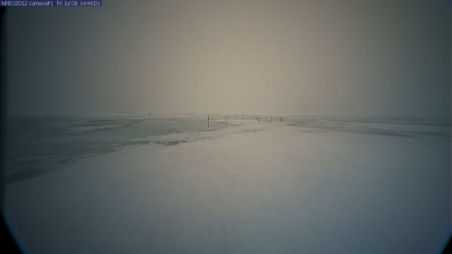 Figure 5b.  Sea ice conditions at the North Pole Environmental Observatory