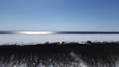Ice near Nome