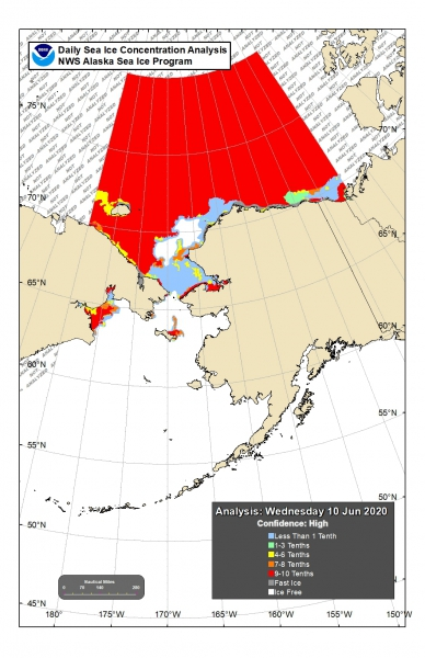 NWS Sea Ice Concentration Analysis