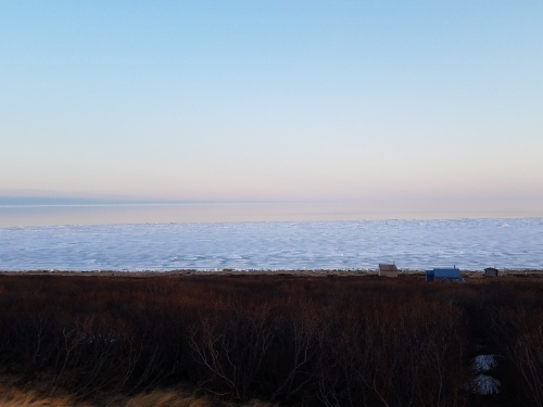 Nome sea ice 3