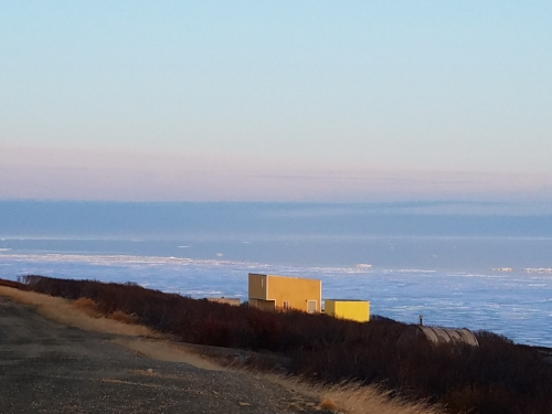Nome sea ice 6