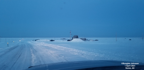 Sea-ice conditions in Nome - view 2.