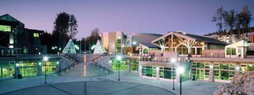 The UNBC Prince George campus. Photo by: Bob Clarke.