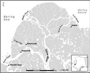 Location Map of Emmonak