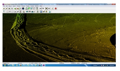 SnowSTAR screen stor of LiDAR data