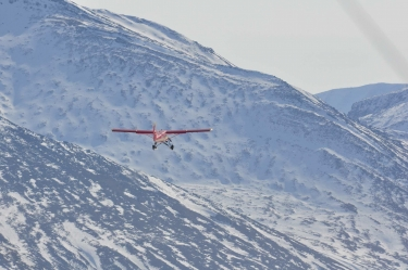 SnowSTAR2012 airborne LiDAR with Otter