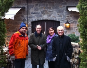 U.S. Arctic Research Commission members in Montreal 2012.