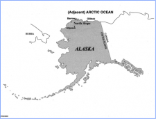 Research facilities are located at various places on Alaska's North Slope