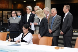 2013 Arctic Council: Signing of Kiruna Declaration