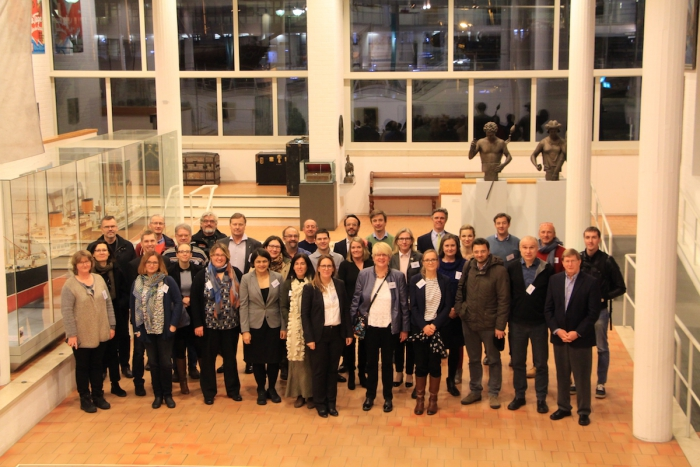 The new Arctic Research Icebreaker Consortium wrapped up their kickoff meeting at the German Maritime Museum in early February, 2018. Photo courtesy of Bradley Moran.