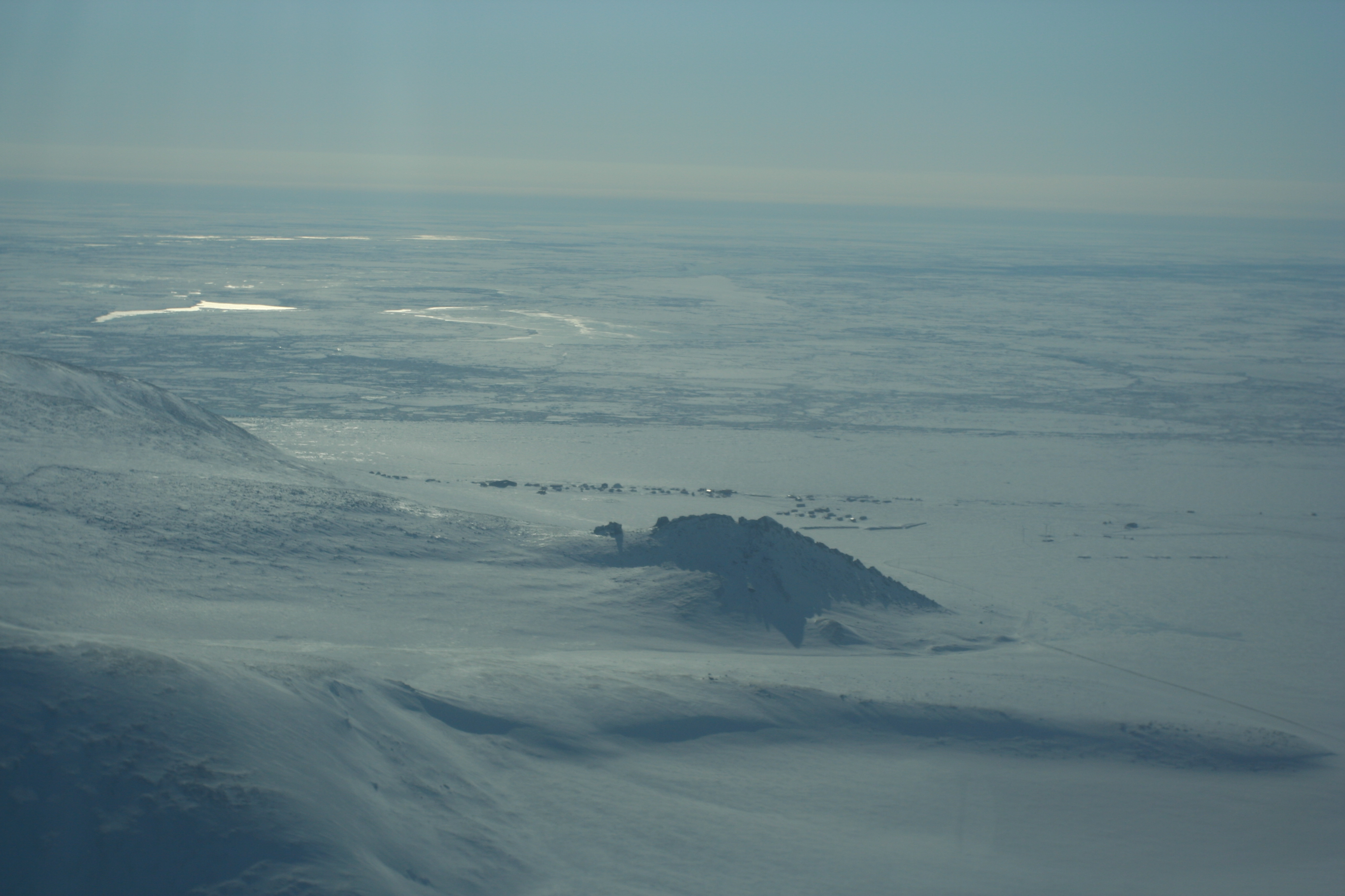 Wales and Bering Strait ice