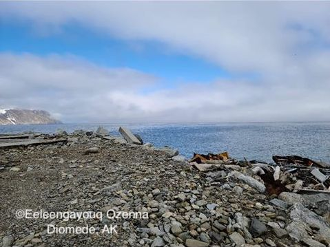 Nearshore conditions in Diomede - view 3