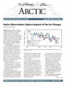 Witness the Arctic Volume 8, Number 1 Cover