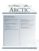 Witness the Arctic Volume 19 Issue 1