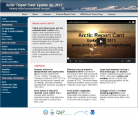 Arctic Report Card Website