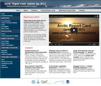 Arctic Report Card Website