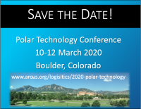 Polar Technology Conference returns in March 2020