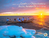 Cover of the USARC 2017-2018 Goals Report. Image courtesy of USARC.