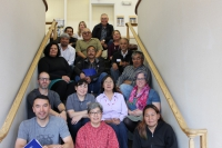 Participants, special guests, observers, and facilitators for the August 2016 Nome Workshop.  Photo courtesy of the Kawerak, Inc. Social Science Program.