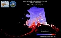 Geophysical Institute Permafrost Lab (GIPL) model