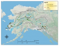 USGS Map of Yukon River Basin