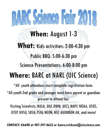 BARC Science Fair 2018