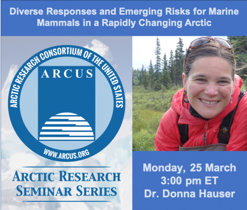 Arctic Research Seminar Series with Donna Hauser