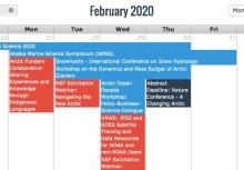 Arctic Calendar