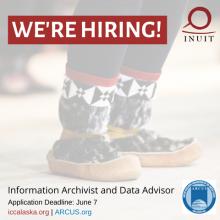 Position Open: Information Archivist and Data Advisor