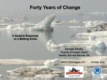 Arctic Seminar Series Presentation Slide