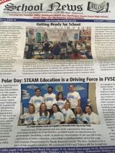 PolarTREC Alumni Hosts Polar Day at School