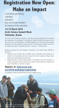 Make an Impact Workshop at ASSW 2016