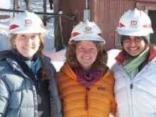 Yamini Bala is with her team in Antarctica to study ice crystals and how their structure effects the flow of the West Antarctic Ice Sheet!