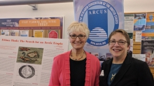 Anchorage Arctic Research Day. Photo courtesy of Kirstin Olmstead.