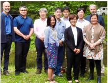Participants from the Experience Exchange Workshop, Hokkaido Japan June 2019. Back row (L to R): Finn Danielsen, Jason Akearok, Natsuhiko Otsuka, Yasushi Fukamachi, Katsushi Iwamoto, Hiroyuki Enomoto, Martin Enghoff. Front row: (L to R): Olivia Lee, Yuka Oishi, Lene K. Holm. Photo courtesy of Finn Danielsen.