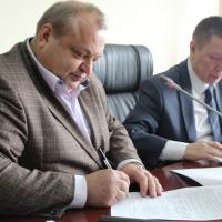 Signing a Memorandum on Partnership and Collaboration between RSHU (Rector, Dr. Valery Mikheev) and RAIPON (Hon. MP Grigory Ledkov)
