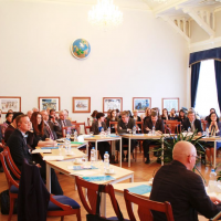 Expert Seminar Russian-American Dialogue in the Arctic Region: Opportunities for Collaboration (St. Petersburg, 2015) organized  in partnership with the Kennan Institute (Woodrow Wilson Center)
